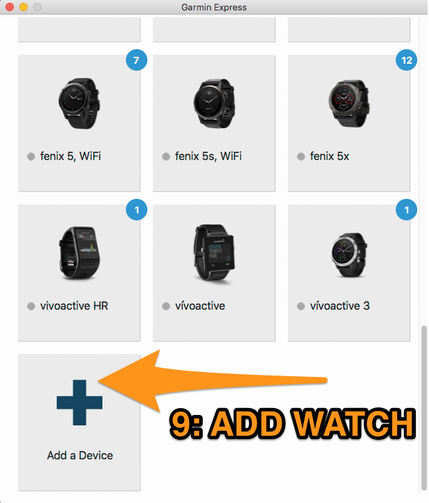 Garmin Says Watch Needs An Update -- Stryd – Stryd